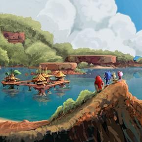 Concept Arts de Sonic Boom, por Nicolas Weis