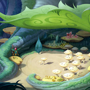 Artes de Natalie Franscioni-Karp para a Disney e a DreamWorks