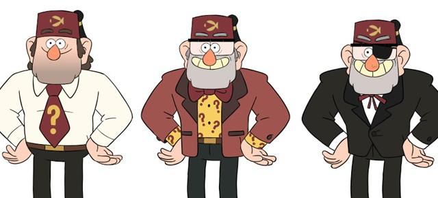 Novas artes do seriado Gravity Falls, do Disney XD