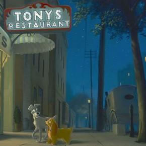 Artes de Rob Kaz para o Disney Fine Art