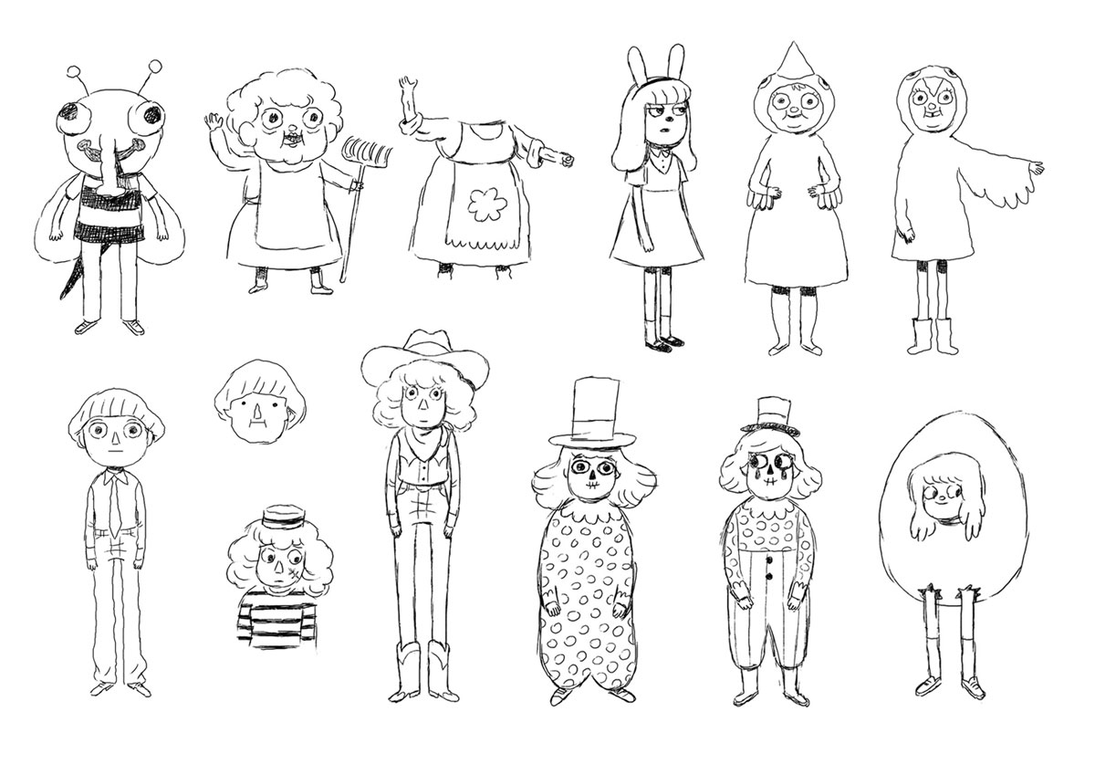personagens da miniss rie over the garden wall por mikkel sommer thecab the concept art blog