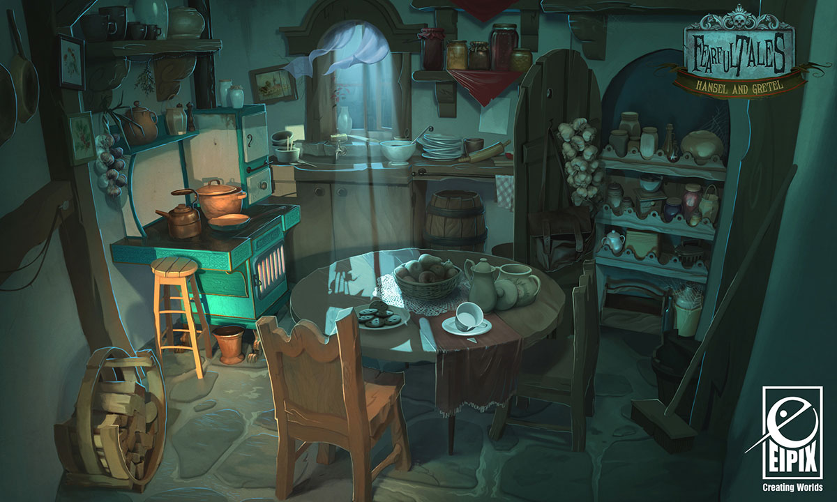 Artes Do Game Hansel And Gretel Por Vanja Todoric Thecab The Concept Art Blog