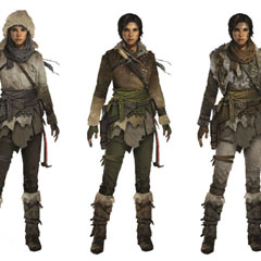 Concept Arts do game Rise of the Tomb Raider