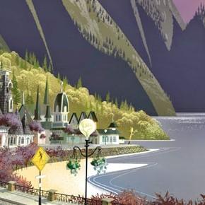 Concept Arts do filme Me and My Shadow, da DreamWorks