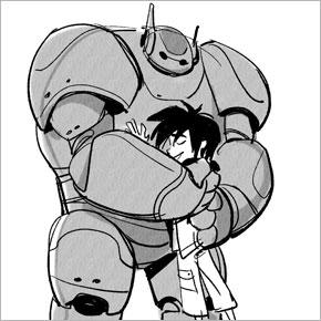 Novos desenhos de Jin Kim para Big Hero 6: Baymax e Honey Lemon