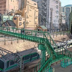 Novas artes de Scott Watanabe para Big Hero 6!