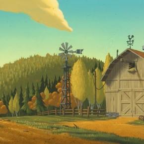 Belíssimas artes de Chris Brock para filmes da DreamWorks