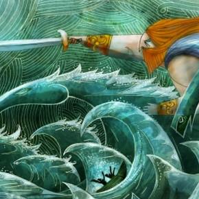 Concept Arts de Ross Stewart para o filme Song of the Sea
