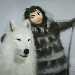 A arte do game Never Alone (Kisima Ingitchuna)