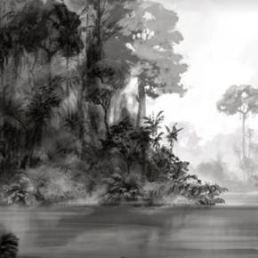 Concept Arts de Andrew Hickson para filmes do estúdio Blue Sky