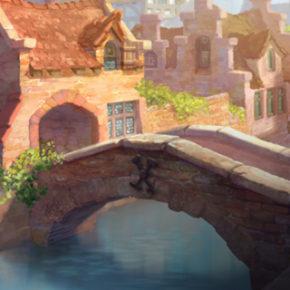 Artes de Noëlle Triaureau para o filme Smurfs: the Lost Village