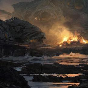 Concept Arts do filme Star Wars: The Last Jedi, pot Seth Engstrom
