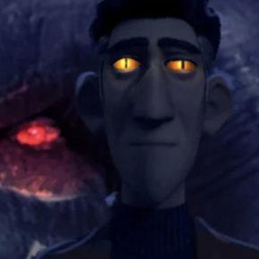 Artes do seriado TrollHunters, da DreamWorks, por Alfonso Blaas