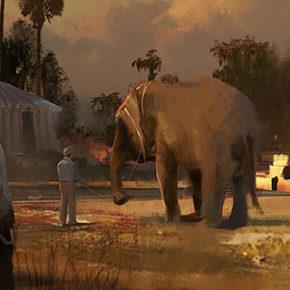 Concept Arts do filme Dumbo, do Walt Disney Studio, por John Park