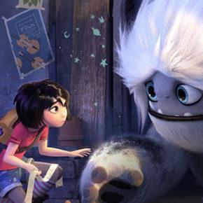 Artes do filme Abominable, da DreamWorks, por Celine Kim