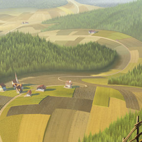Artes do filme Klaus, do The SPA Studios, por Henrik Evensen