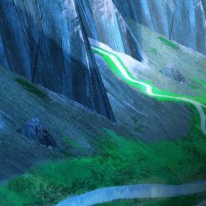 Artes do filme Missing Link, da Laika, por Santiago Montiel