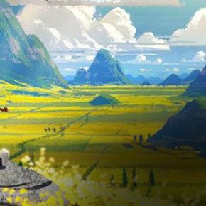 """Artes de Chris Brock para o filme """"Abominable"""", da DreamWorks"""