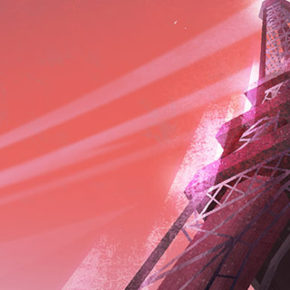 Backgrounds da série Carmen Sandiego (Netflix), por Johel Rivera