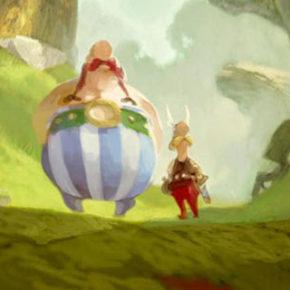Concept Arts de Daniel Cacouault para o filme Astérix