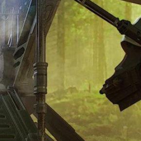 Concept Arts de Christian Alzmann para The Mandalorian, do LucasFilm