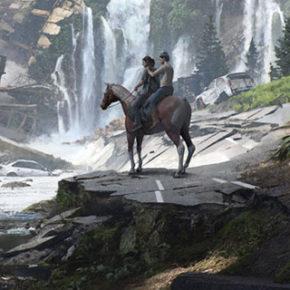 Artes de Aaron Limonick para o Game The Last of Us Part II