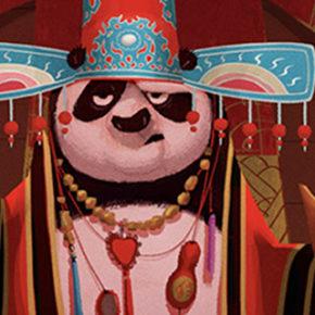 Artes de Chris Brock para o filme Kung Fu Panda 3