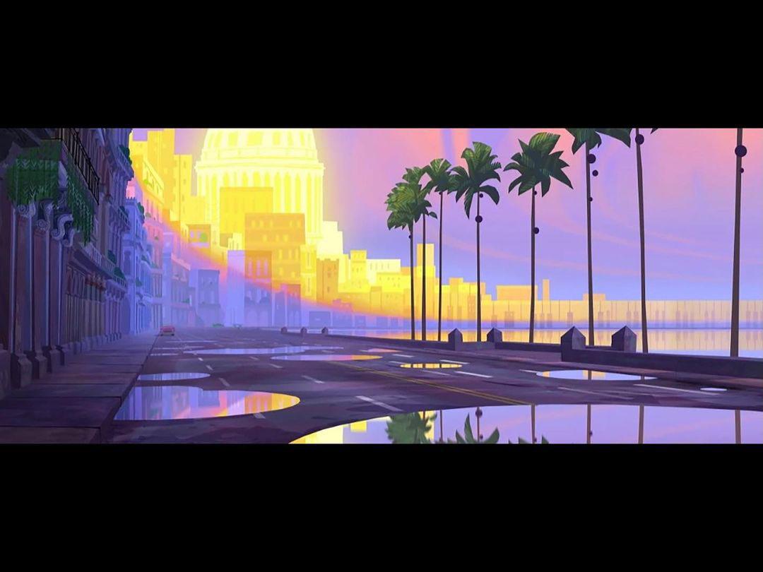 Mais artes do filme Vivo, da Sony Animation, por Andy Harkness